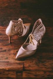Νυφικά παπούτσια Σιδέρης