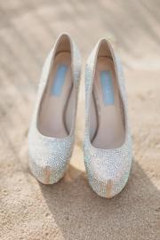 Νυφικα παπουτσια Betsey Johnson