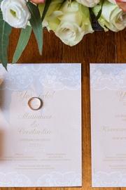Chic vintage προσκλητήρια γάμου