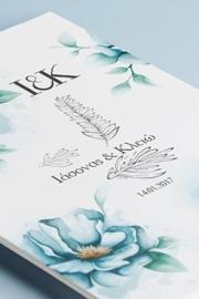 Floral Winter invitations
