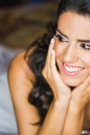 Νυφικό μακιγιάζ για μελαχρινές