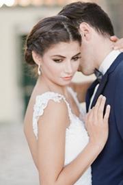 Ρομαντικό νυφικό μακιγιάζ