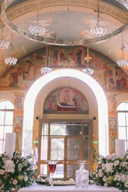 Στολισμός εκκλησίας