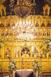 Διακόσμηση εκκλησίας για γάμο