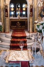 Elegant διακόσμηση εκκλησίας