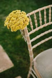 Διακόσμηση καρέκλας γάμου