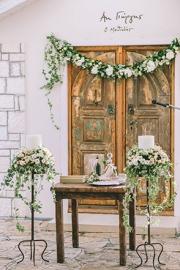 Στολισμός εκκλησίας γάμου