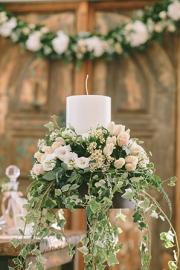 Στολισμός λαμπάδας γάμου