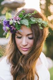Στεφανάκι για τα μαλλιά της νύφης