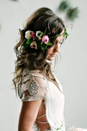 Στεφάνι για τα μαλλιά της νύφης