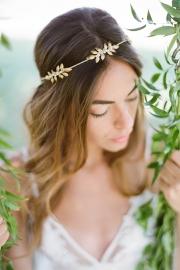 Στεφανάκι για τα μαλλιά νύφης