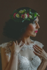 Στεφάνι για τα μαλλιά νύφης