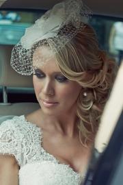 Vintage αξεσουάρ για τα μαλλιά νύφης