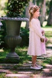 Φορεμα και ζακετάκι για παρανυφάκι