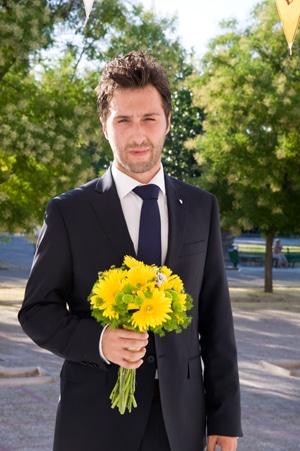 γαμος ρομαντικος γαμπρος