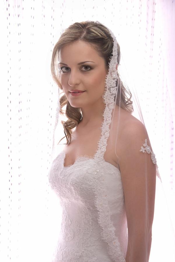 ρομαντικος γαμος Νυφικο demetrios