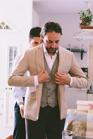 κοστουμι για γαμπρο ourania kay