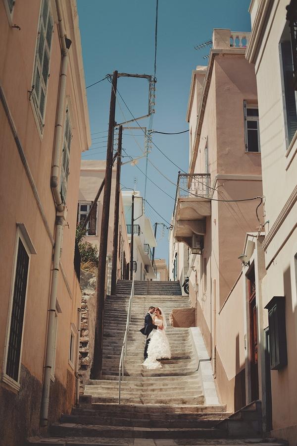 μοντερνες φωτογραφιες γαμου νησι συρος