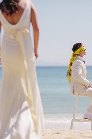 νυφικο γαμος νησι