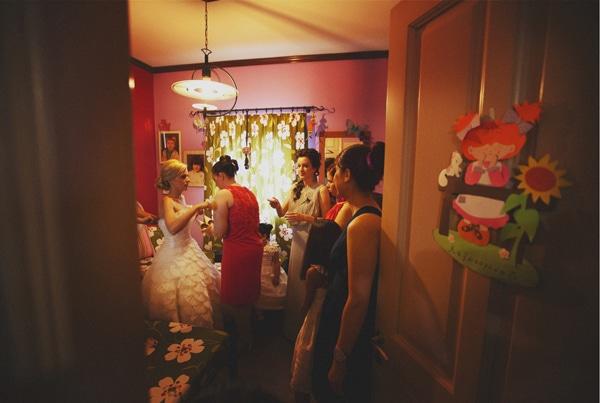 προετοιμασια νυφης γαμος