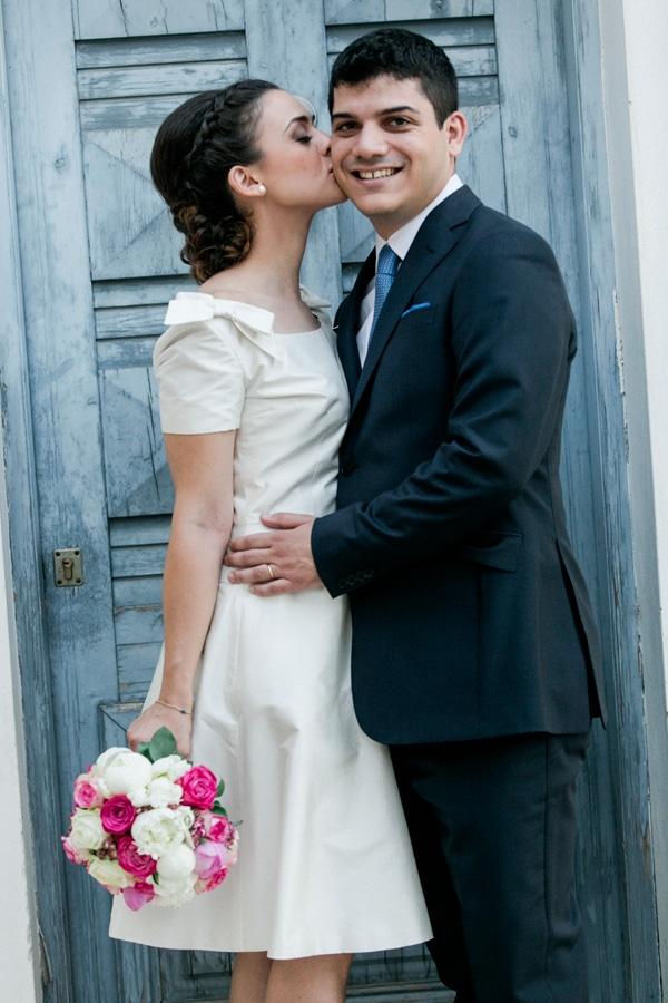 φορεμα αντι νυφικου πολιτικος γαμος