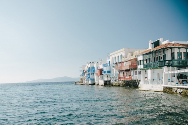 destination wedding greek island mykonos