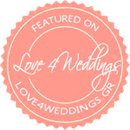 Featured on Love4Weddings