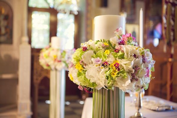 στολισμος-λαμπαδας-λουλουδια