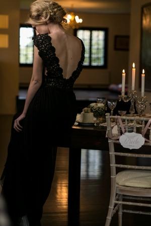 μαυρο-βραδινο-φορεμα