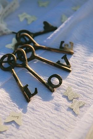 vintage-ιδεες-γαμου-κλειδια
