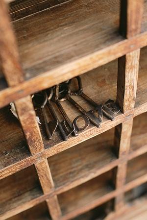 vintage-πρωτοτυπες-ιδεες-γαμου-κλειδιά