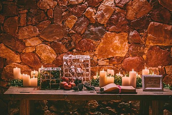 γάμος-τα-Χριστούγεννα-τραπέζι-ευχών