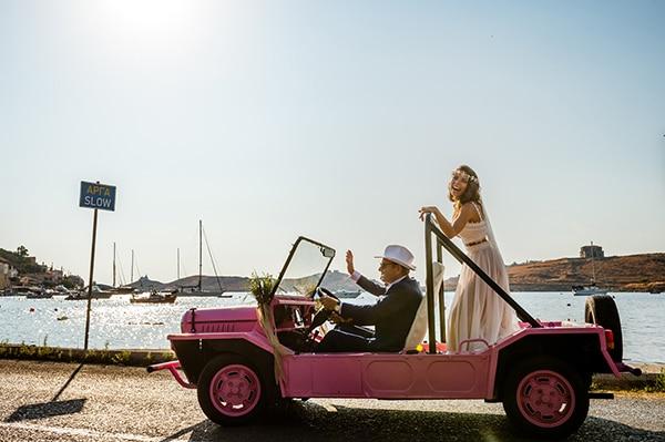 αφιξη-νυφης-γαμος-νησι