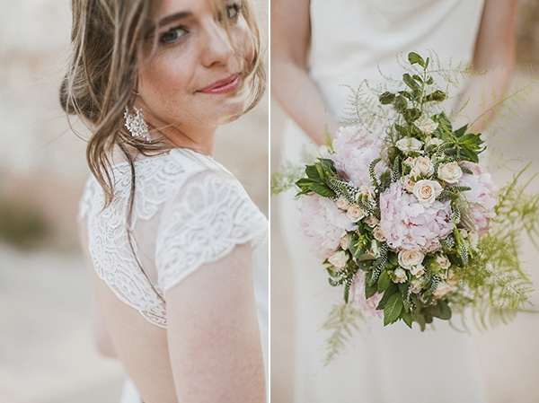 γαμος-κρητη-νυφικη-ανθοδεσμη-τριανταφυλλα-απαλο-ροζ-1
