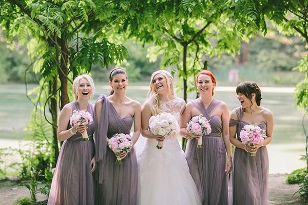 redwood-δασος-γαμος-παρανυμφες-νυφη