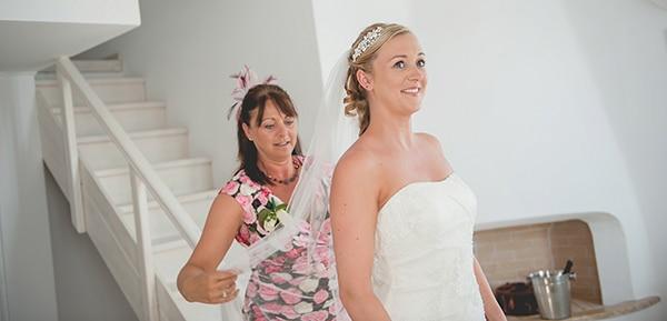 γαμος-σαντορινη-νυφη