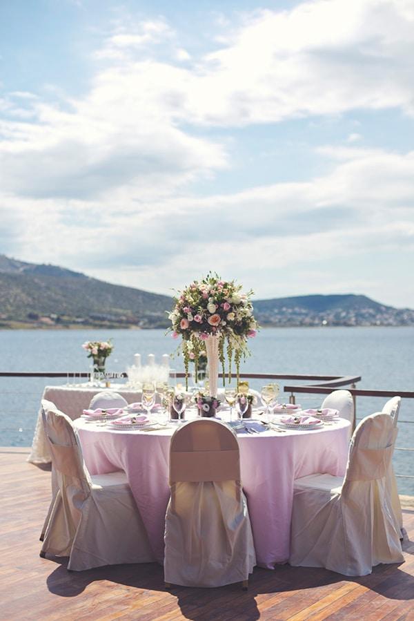 ροζ-διακοσμηση-δεξιωσης-γαμου