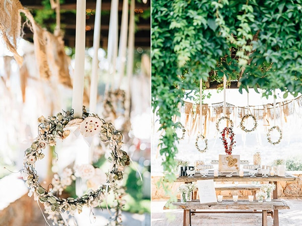 rustic-διακοσμηση-γαμου-dessert-table