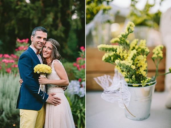 νυφικη-ανθοδεσμη-κιτρινα-λουλουδια