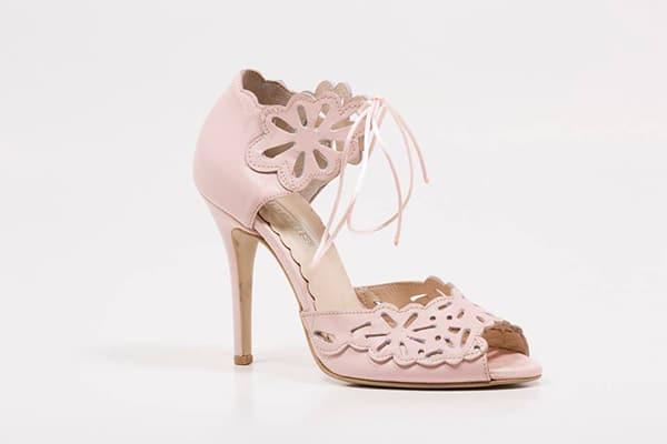 ροζ-νυφικα-παπουτσια-δερματινα