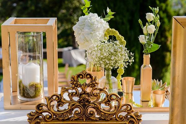 b522eee8b25f Elegant gold and mint wedding inspiration - Love4Weddings