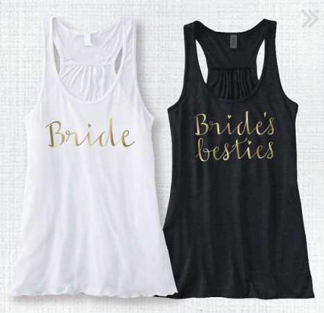 Stylish μπλουζάκια για τη νύφη και τις φίλες της νύφης