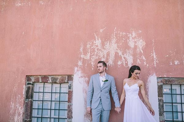 Πανεμορφος boho chic γαμος στη Σαντορινη  011d4c53cb2