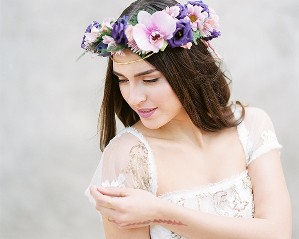 bridal-flower-crown-purple