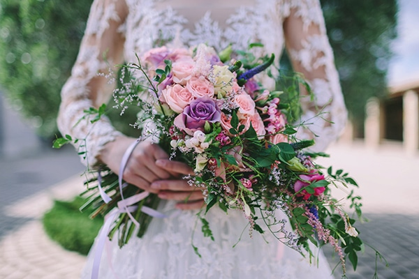 bridal-bouquet-cascade