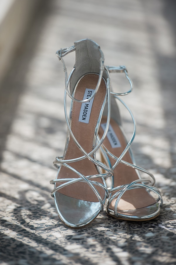 silver steve madden-bridal shoes