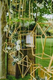 Ιδεες διακοσμησης γαμου με γεωμετρικα σχηματα