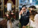 Στολισμος λαμπαδας για φθινοπωρινο γαμο