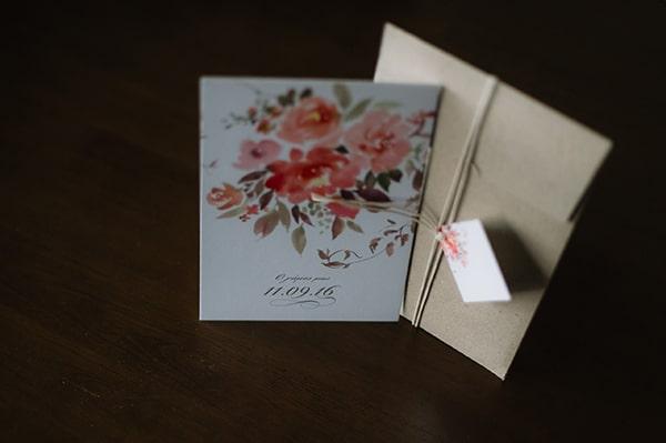 Προσκλητηριο γαμου για φθινοπωρινο γαμο
