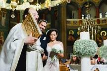 Στολισμος εκκλησιας με λευκα ανθη